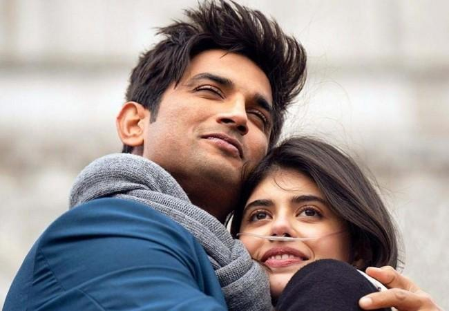 Sanjana Sanghi and Sushant Singh Rajput in Dil Bechara