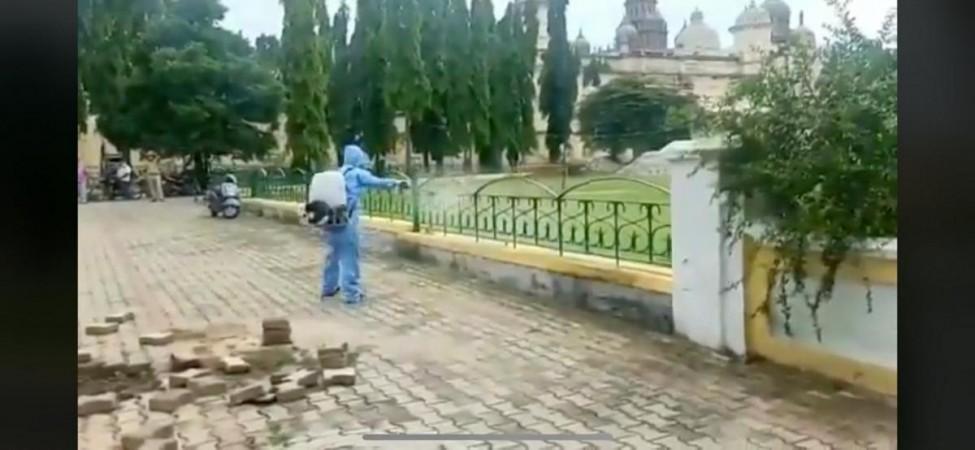 Mysuru Palace sanitasyonu başlıyor