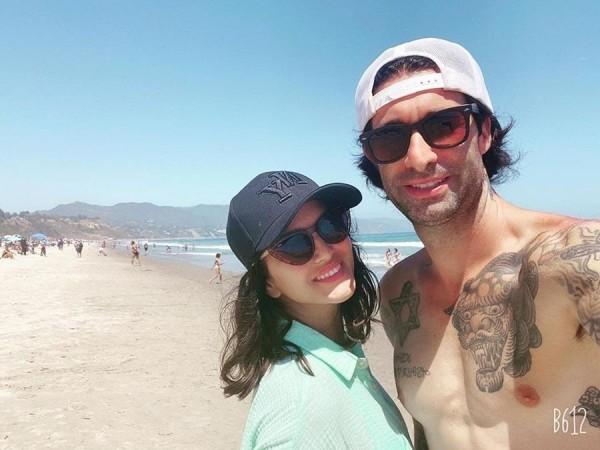 Sunny Leone with Daniel Weber