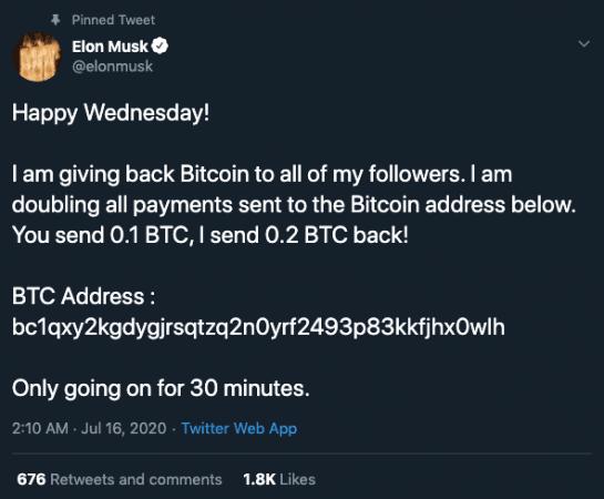 Elon Musk hesabı saldırıya uğradı