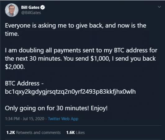 Bill Gates hacklendi
