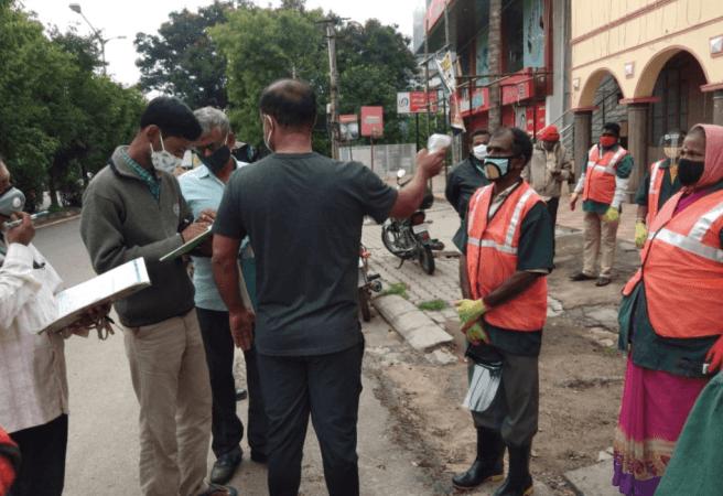 BBMP Pourakarmikas için sağlık kontrollerini artırdı