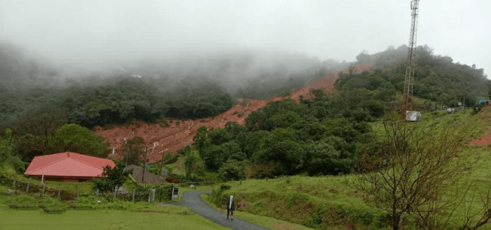 Bhagamandala landslide in Kodagu