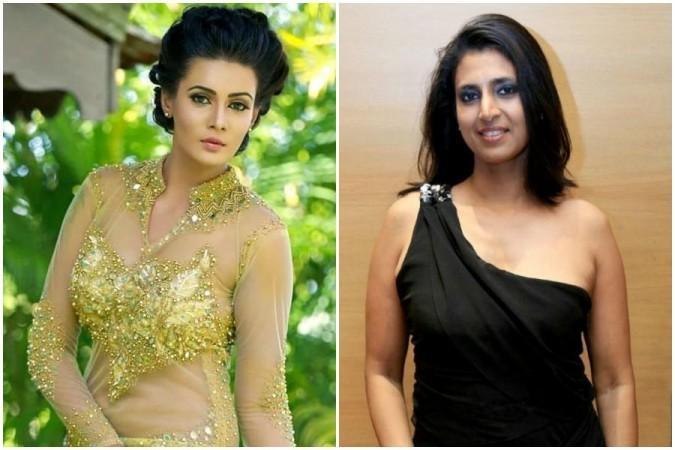 Meera Mitun and Kasturi Shankar