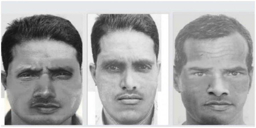 Hapur rape case: Sketches of the accused