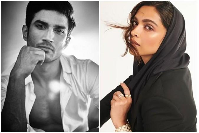 Sushant and Deepika Padukone