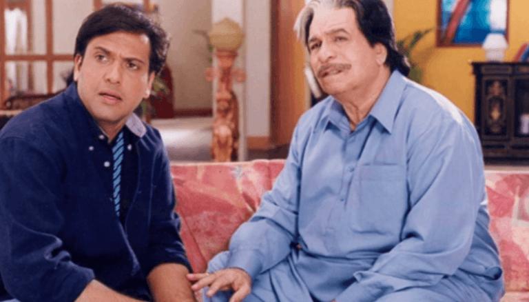 Govinda and Kader Khan