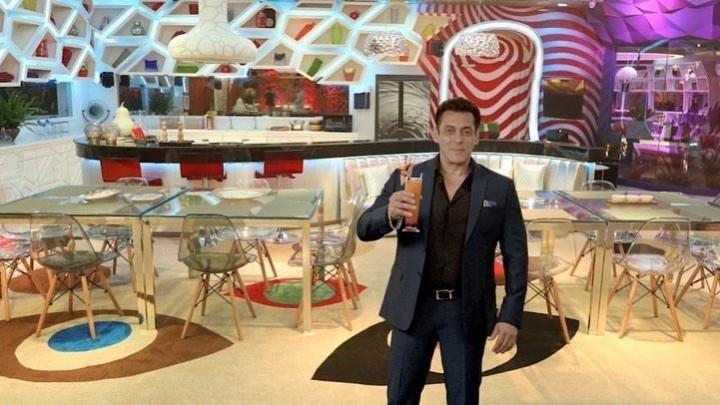 Salman Khan at Bigg Boss 14 virtual press confernce