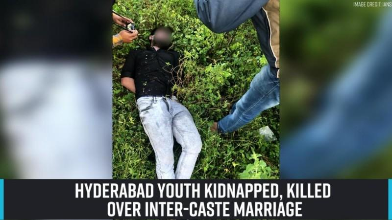 Hyderabad youth kidnapped, killed over inter-caste marriage