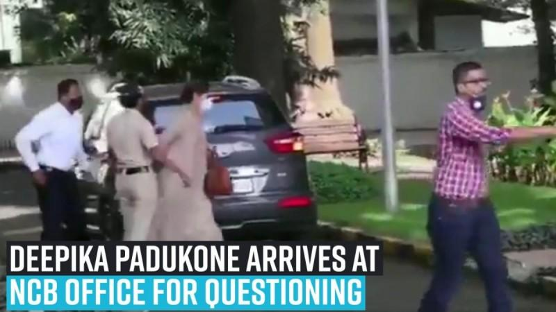 Deepika Padukone arrives at NCB office for questioning in drug probe linked to Sushant Singh Rajput's death