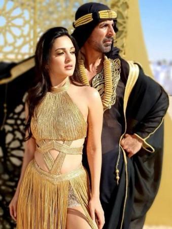 Kiara and Akshay Kumar
