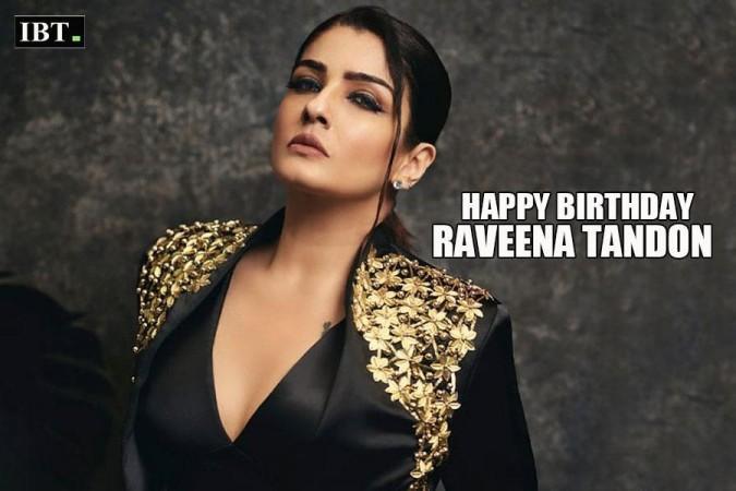 Raveena Tandon birthday