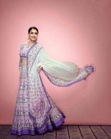 Raveena and her fashion sense