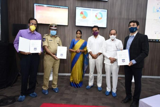 KTR inaugurates state-of-the-art Integrated Operations and Data Centre at the Cyberabad Police Commissionerate