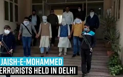 Major terror attack foiled in Delhi, 2 Jaish-e-Mohammed terrorists held