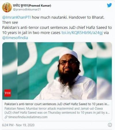 Hafiz Saeed sentencing