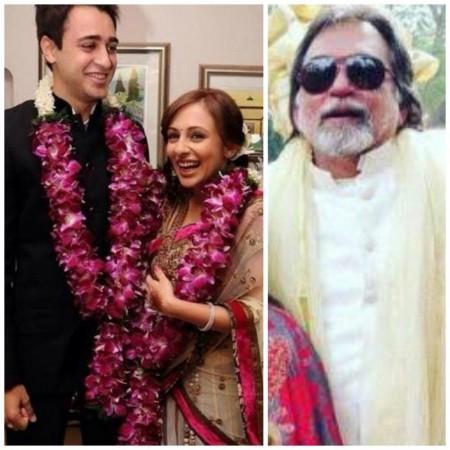 Imran Khan and Avantika Malik with Ranjev Malik