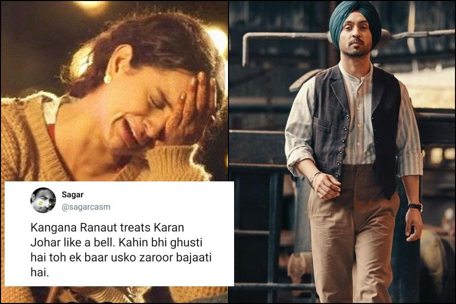 Funniest reactions to Kangana Ranaut, Diljit Dosanjh's battle you shouldn't miss