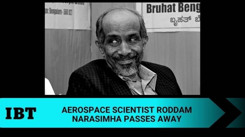 aerospace scientist Roddam Narasimha no more