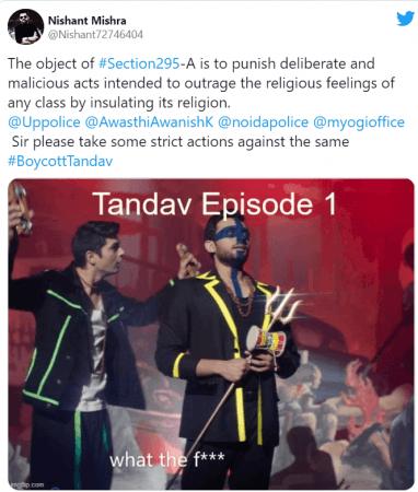 Boycott Tandav: Netizens expressed their displeasure for hurting sentiments  of Hindus; attack IMDB rating - IBTimes India