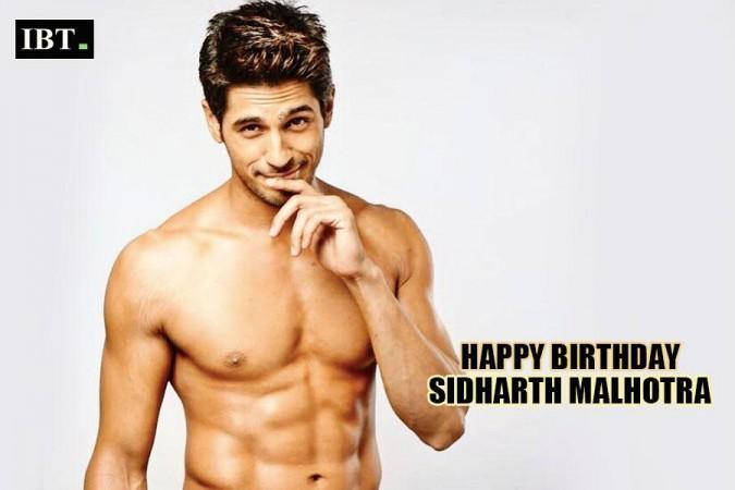 Siddharh Malhotra Birthday