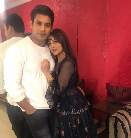 Sidharth and SHehnaz