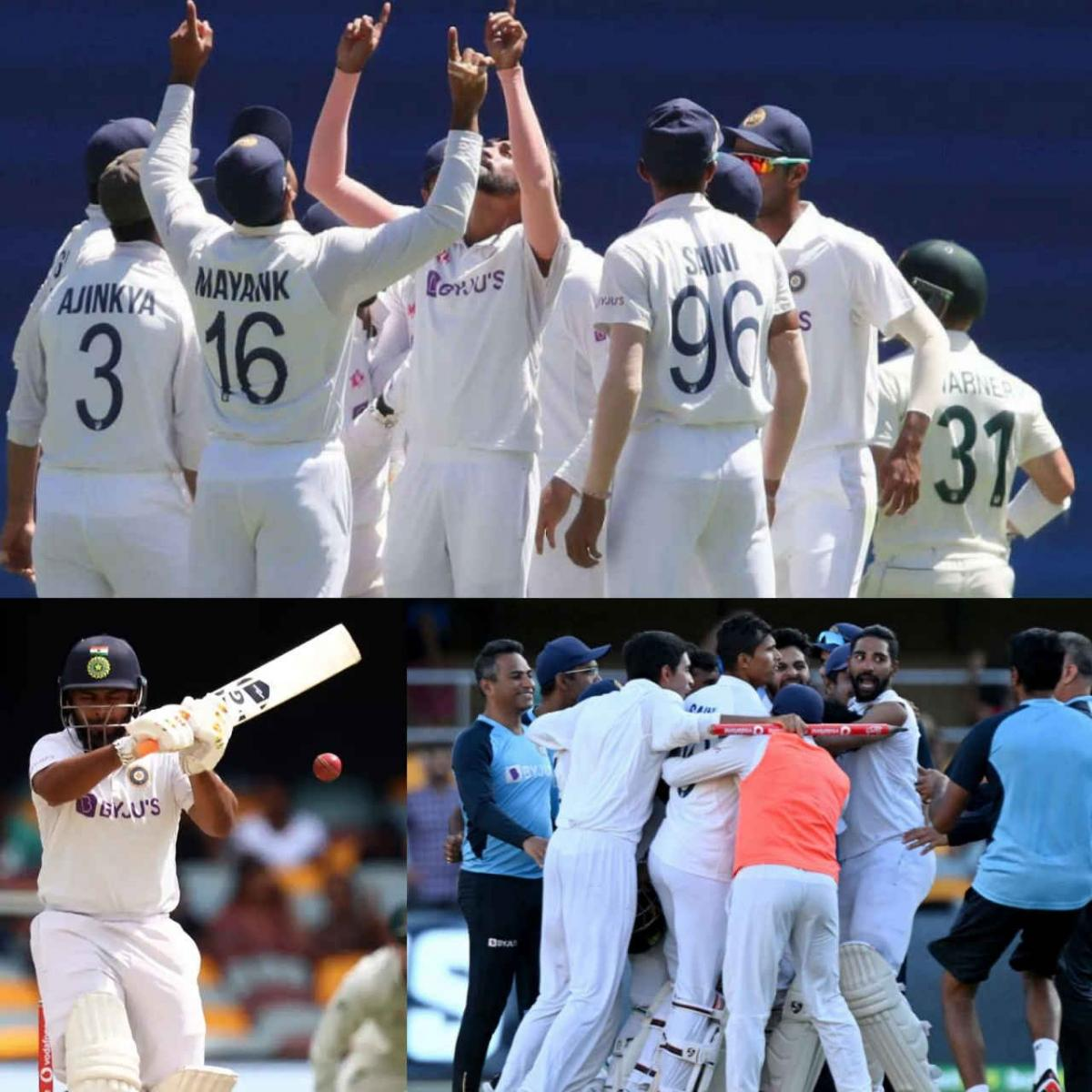 India Shocks Australia to Clinch Final Test in Historic Win, taken series 2-1