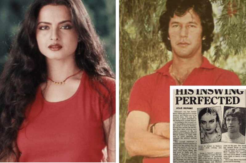When Rekha's mother wanted her to marry Imran Khan, the two painted the  town red - IBTimes India