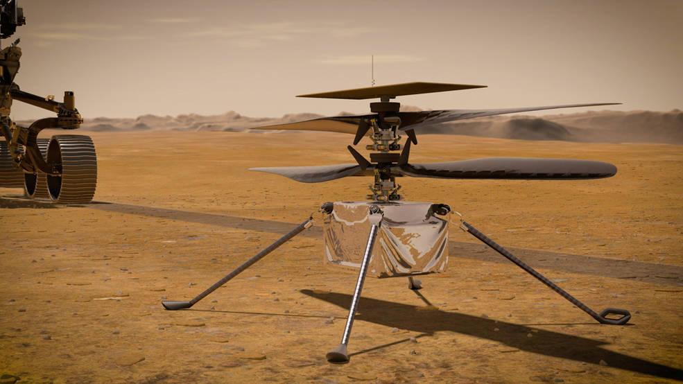 Mars Helicopter Survives First Freezing Night On Martian Surface, All Eyes On April 11 First Flight