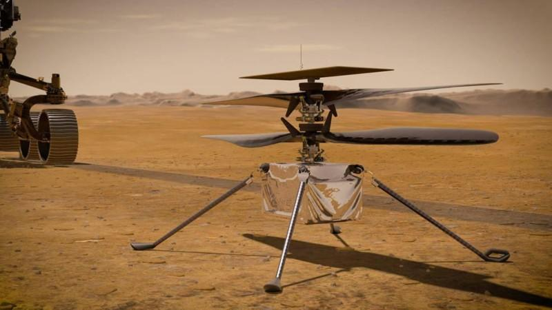 Ingenuity Mars Helicopter's First Flight Delayed By NASA ...