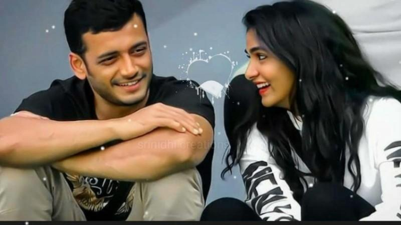 KP Aravind and Divya Uruduga
