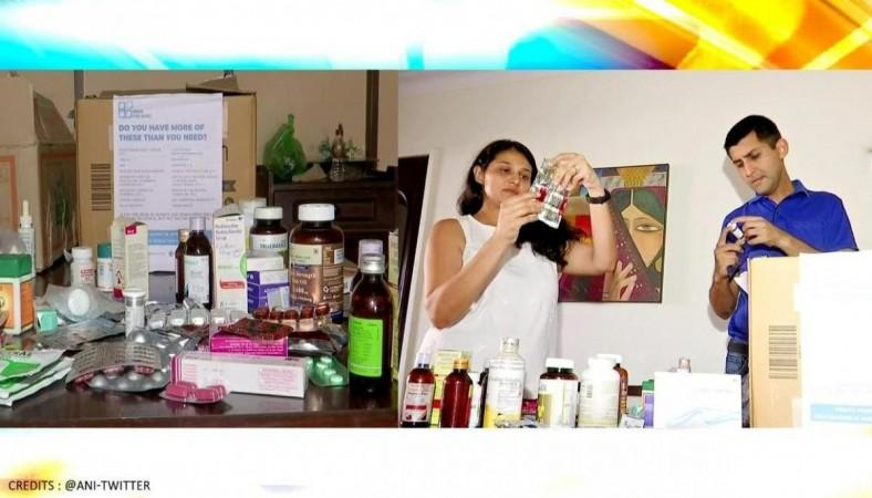 Maharashtra's doctor couple collecting the unused medicines from those who have recovered from the disease