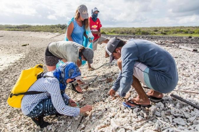 Agua de mar en Galápagos
