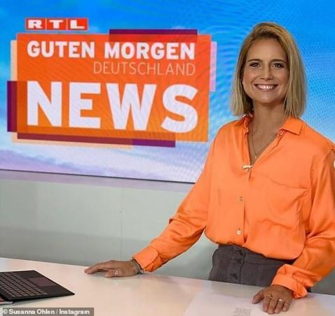 Susanna Ohlen worked with RTL News at Germany