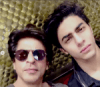 Aryan Khan with father Shah Rukh Khan
