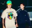 Justin Bieber with fiancee Hailey Baldwin