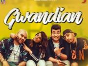 Poster launch of Gwandian featuring Richa Chadha and Varun Sharma in Dr Zeus's album Global Injection