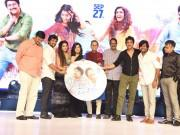 Nagarjuna, Nani, Rashmika Mandanna and Samantha at Devadas audio launch