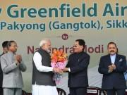 PM Narendra Modi inaugurates Sikkim's first airport in Pakyong