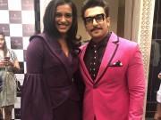 P.V. Sindhu's fangirl moment with Ranveer Singh