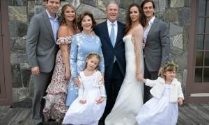 George W. Bush's daughter ties the knot in a secret Kennebunkport ceremony