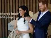 Prince Harry and Meghan look adorable together as they tour Australia