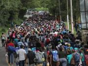 Honduran migrants march through Guatemala to seek refuge in the U.S.