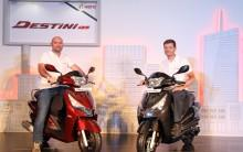 Hero MotoCorp launches Destini 125 cc scooter