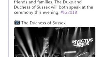 Duchess of Sussex,Meghan Markle,Meghan Markle twitter,Meghan Markle on Twitter,Meghan Markle and husband Prince Harry,Prince Harry