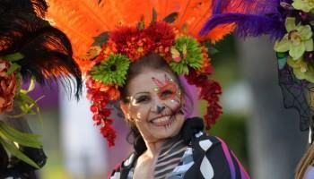 La Catrina,Day Of The Dead,Day of the dead  La Calaca Festival,Mexican Day of the Dead,Mexico,Mexico City,MExican Festival,Festivals around the world
