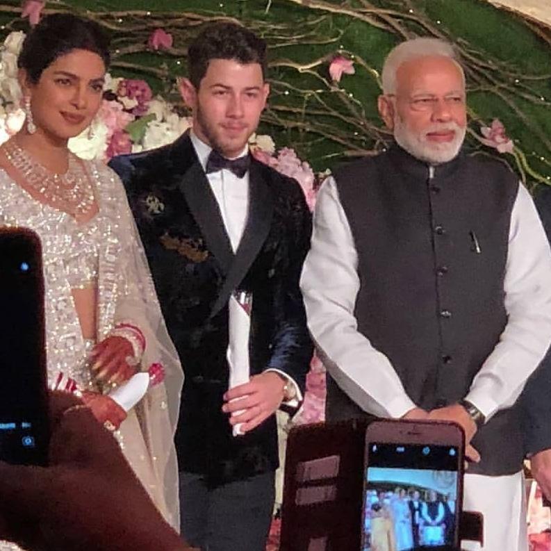 Priyanka Chopra And Nick Jonas' Dreamy Wedding Reception