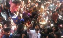 Dhruv Vikram Takes Selfie