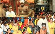 Nayanthara-Vignesh Shivan at Swamithope Pathi Temple and Thanumalayan Temple