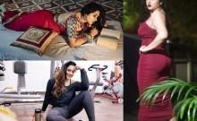 Namitha Looking Hot in Western Dress and Saree